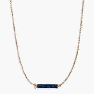 J. Crew Stone Bar Necklace